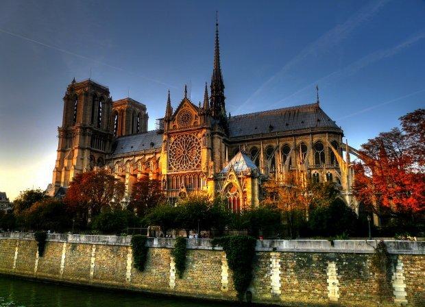 Собор Парижской Богоматери Франция