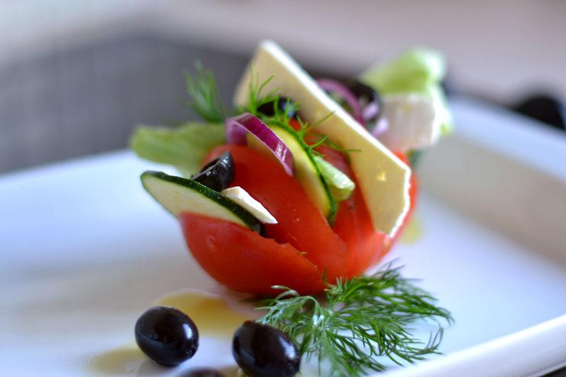 Подача салатов фото