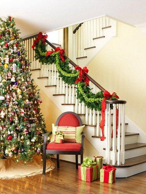 также другие украсить перила на новый год которых шьют