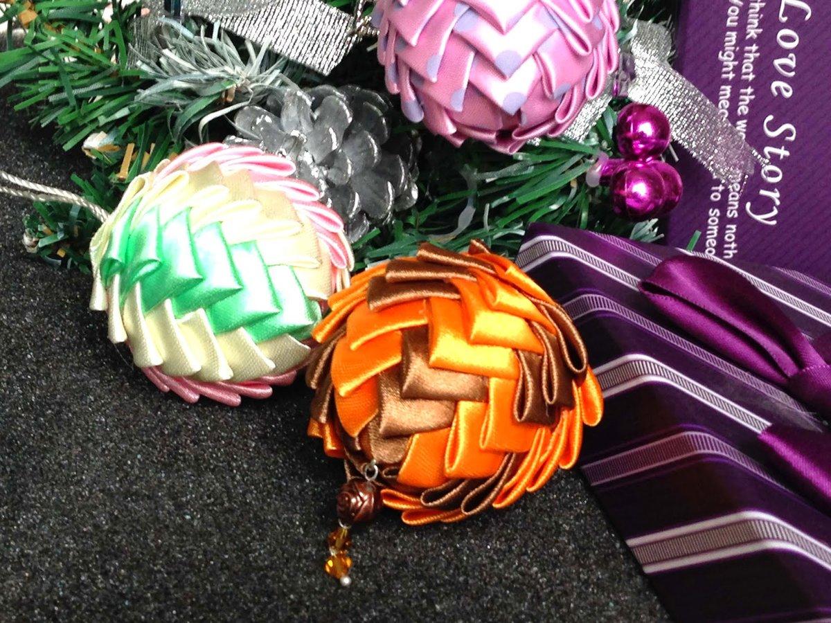 поделка новогодний шар своими руками фото фламинго солёном