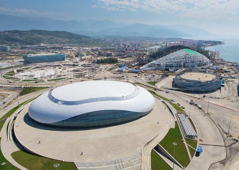В Олимпийском парке Сочи находятся главные спортивные сооружения, задействованные в Зимних Олимпийских играх 2014 года. Комплекс строился с 2007 по 2013 годы, выполнен в едином стиле. Находится в Адлерском районе, на территории Имеретинской низменности.