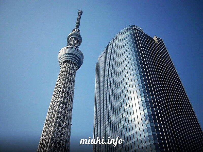 Токийская телебашня Tokyo Skytree