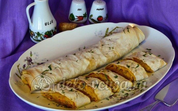 Блюда лаваша духовке рецепты фото