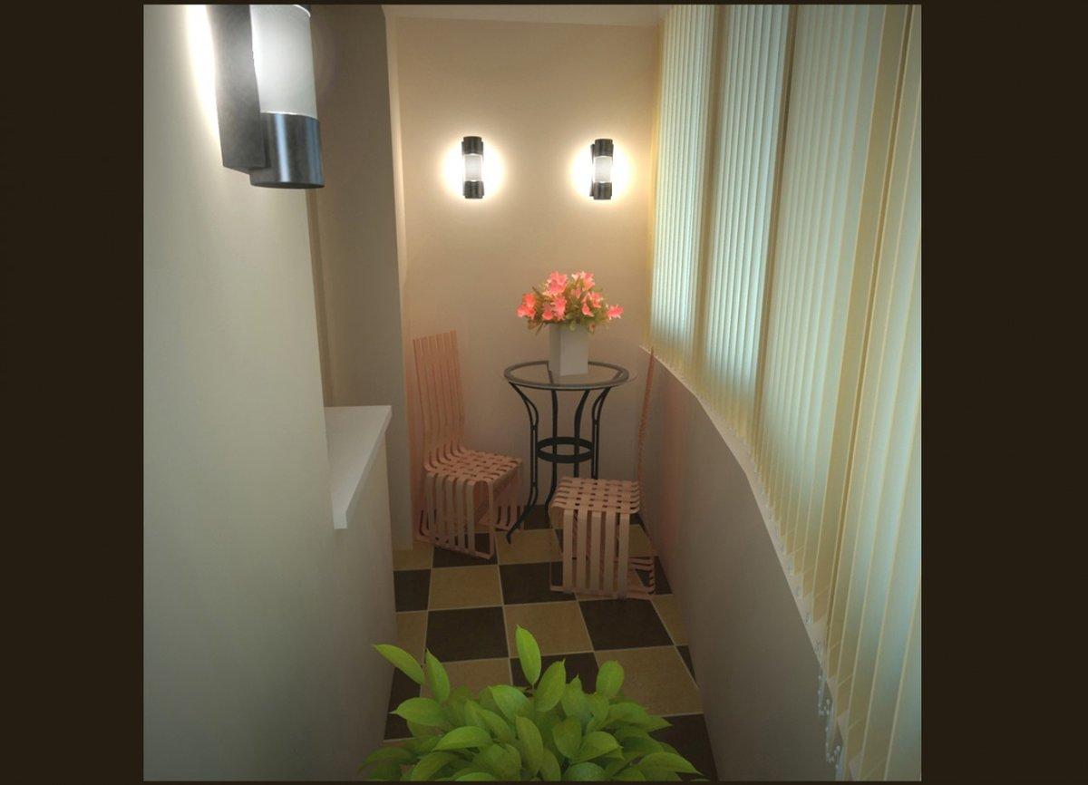 Дизайн балкона в квартире. фото.