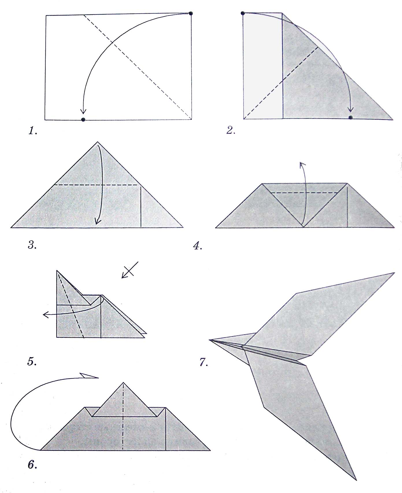 Поделки оригами: 91 фото как создаются оригинальные бумажные 5