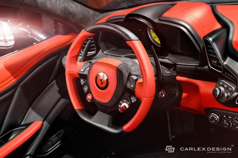 Quot Черно красный салон Ferrari 458 Spider Quot Card From User