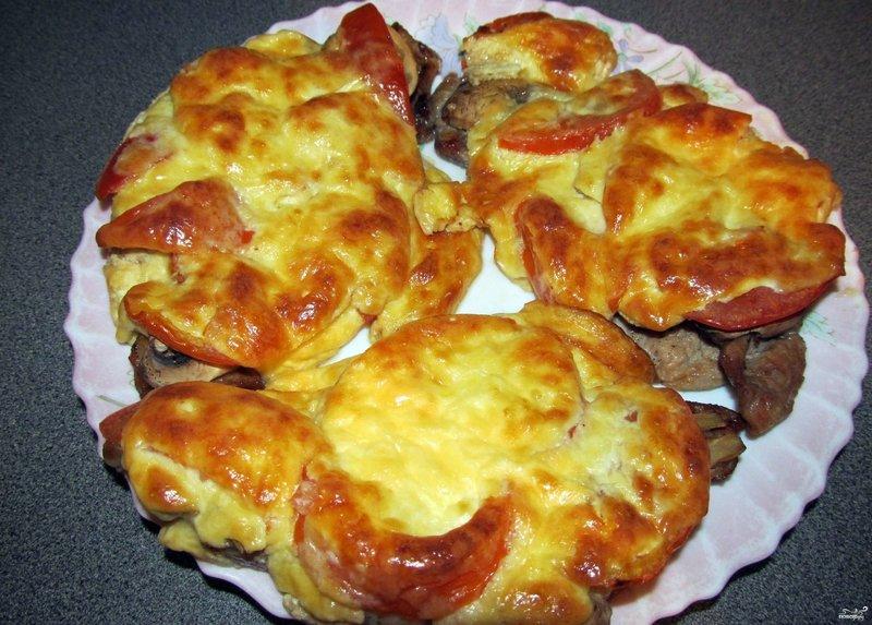 мясо грибами пошаговый рецепт фото