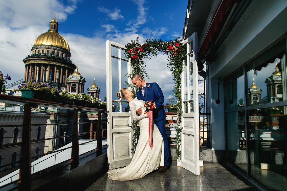 Магазин цветов, свадьба в санкт-петербурге для двоих