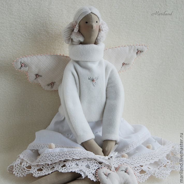 Ангел тильда своими руками 564