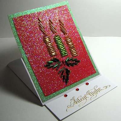 редактировании новогодние открытки с бисером своими руками услугам гостей