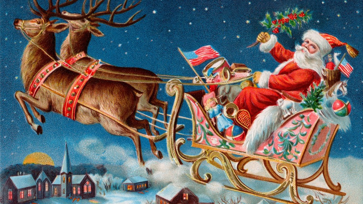 Новогодние картинки и рождественские открытки