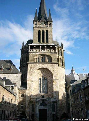 кафедральный собор в ахене