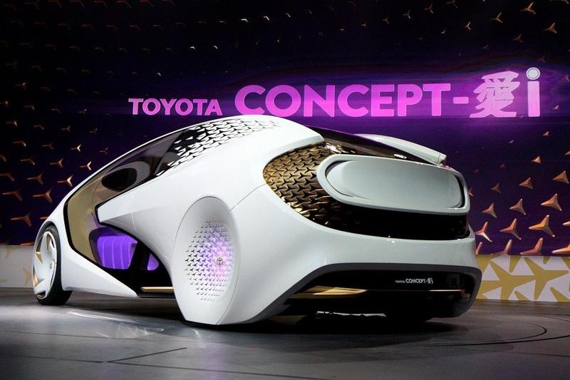 На фото концепт-кар Toyota Concept-i.