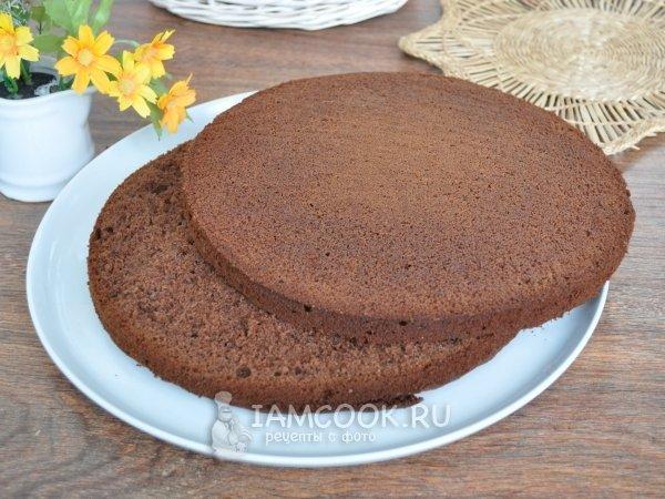 Бисквит классический для торта рецепт с фото