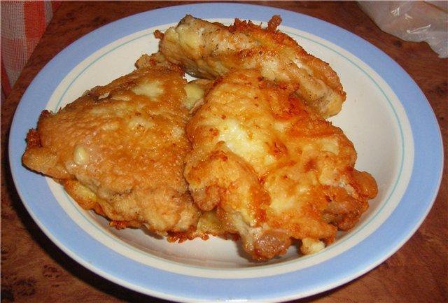 куриные отбивные с сыром рецепт с фото в духовке