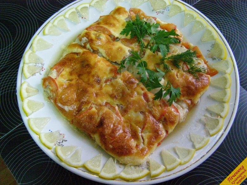 Филе пангасиуса рецепт с сыром