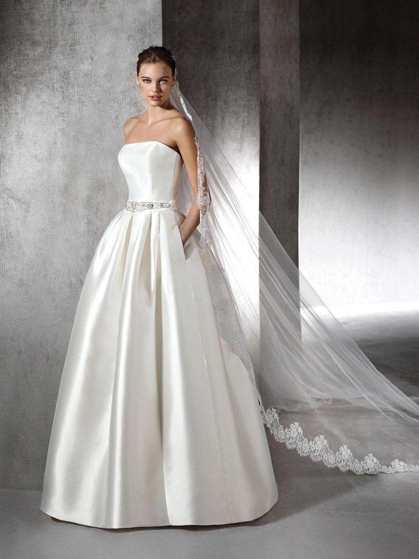 Картинки пышных белых свадебных платьев