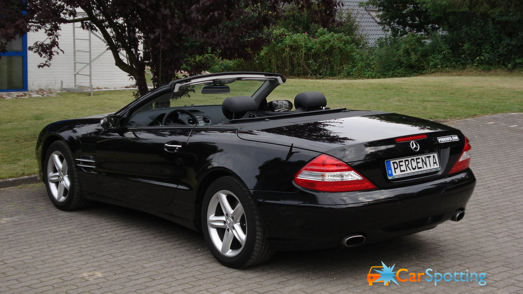 mercedes benz sl500M\