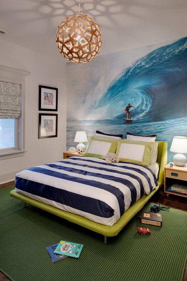 Океан в спальне