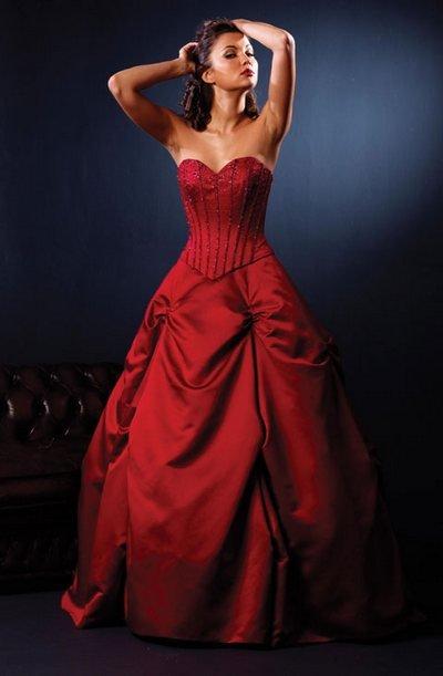 Нестандартное платье для невесты