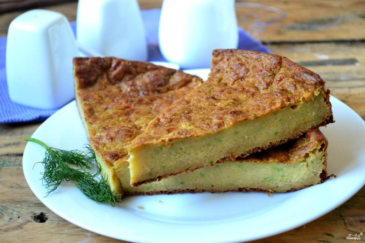 Пирог из кабачков рецепт с фото