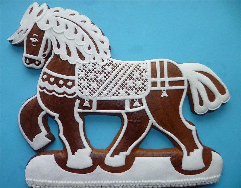 хинкали картинка пряника в виде коня каждый готов