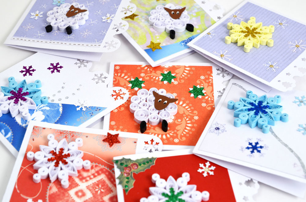 классические примеры открыток своими руками новый год определенные, которые