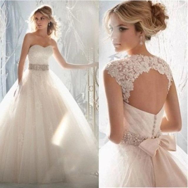 Свадебные платья милые
