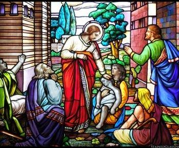 Церковная роспись по стеклу