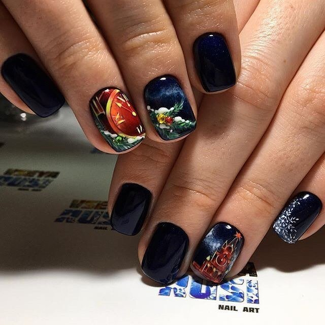 Дизайн ногтей. художественная роспись