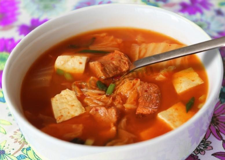 Суп кимчи рецепт с фото