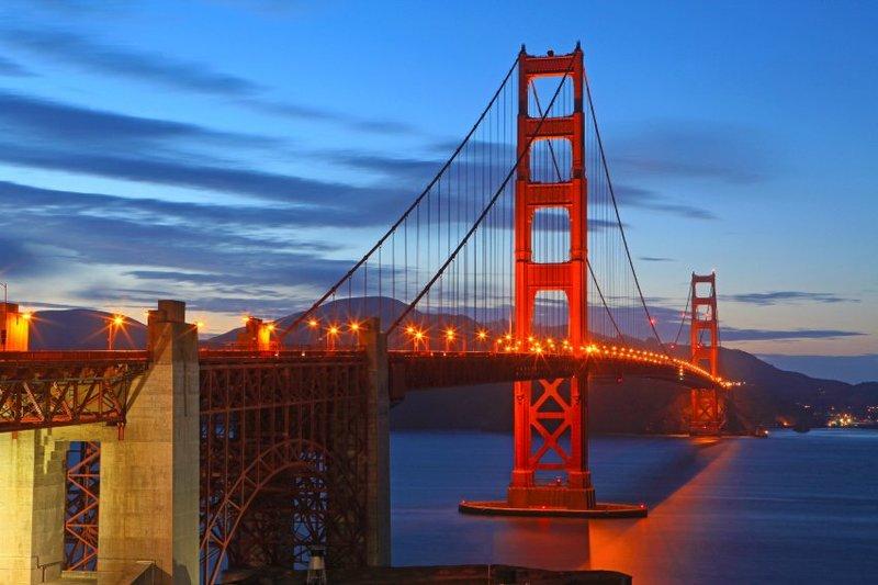Golden Gate Bridge wird 75: San Francisco feiert das Jubiläum - SPIEGEL ONLINE mit ihren 75 jahren erhebt sich die golden gate brücke immer noch majestätisch über dem goldenen tor dem eingang zur bucht von san francisco