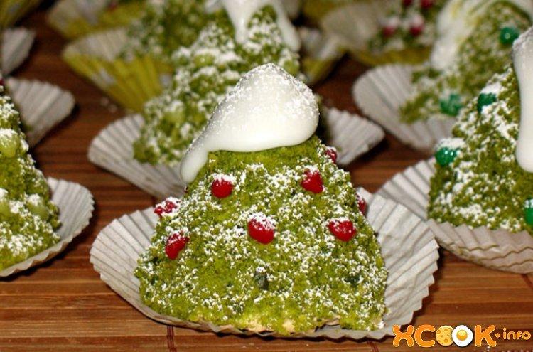 рецепты новогодних пироженных и тортов c фото