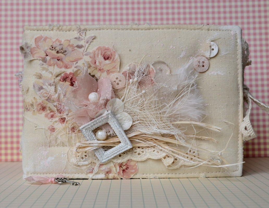 Покровом святой, скрапбукинг стиль шебби-шик открытки