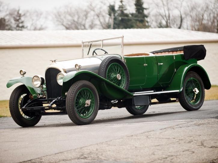 Bentley 3 Litre Tourer by Gurney Nutting