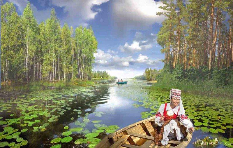 Открытки природа беларуси