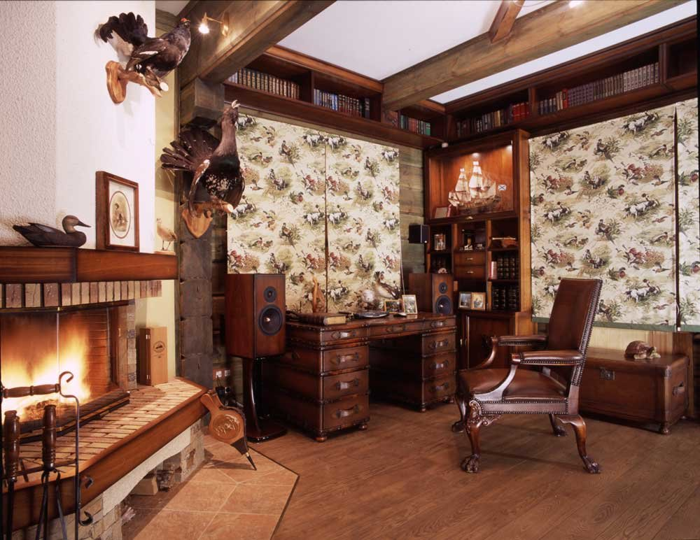 Мебель в охотничьем стиле фото
