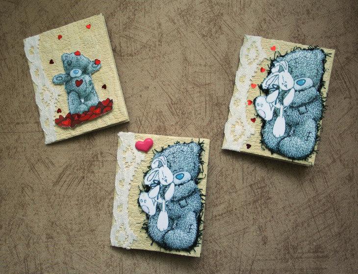Животные, открытка с мишкой на день рождения своими руками
