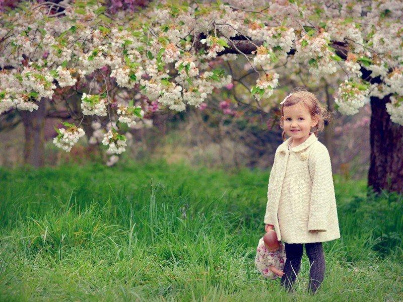 картинки весна с малышками всякий