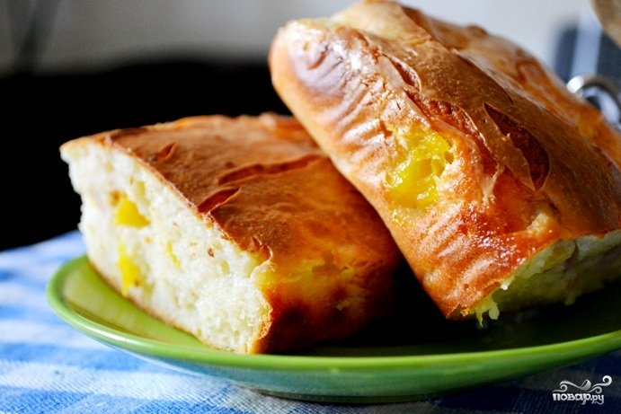 Персики в духовке рецепт с фото