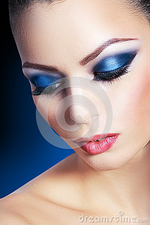 Woman Smoky Make-up - Download From Over 46 Million High Quality Stock Photos, Images, Vectors. Sign up for FREE today. Image: 35880092