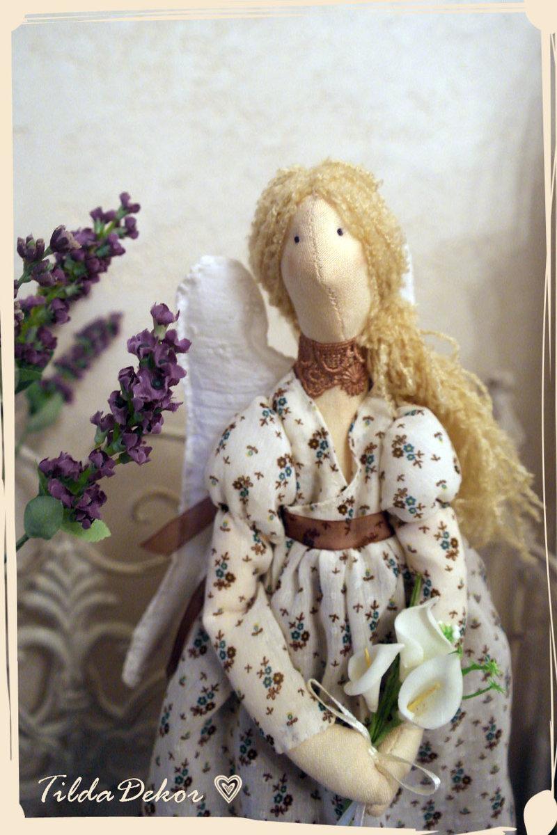 Кофейный ангел Тильда.