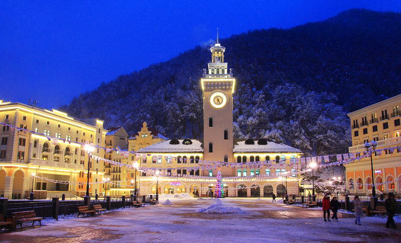 Отличным местом проведения новогодних праздников является город Сочи!