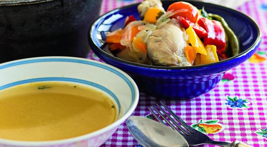 шурпа рецепт из курицы с фото