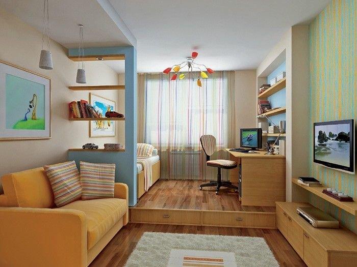 мне рассказал зонирование детской в однокомнатной квартире работы: найдены вакансии