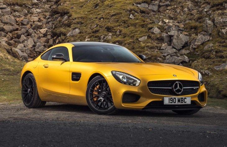 Все об автомобиле Mercedes-AMG GT: цены, характеристики, фотографии, подробная информация.