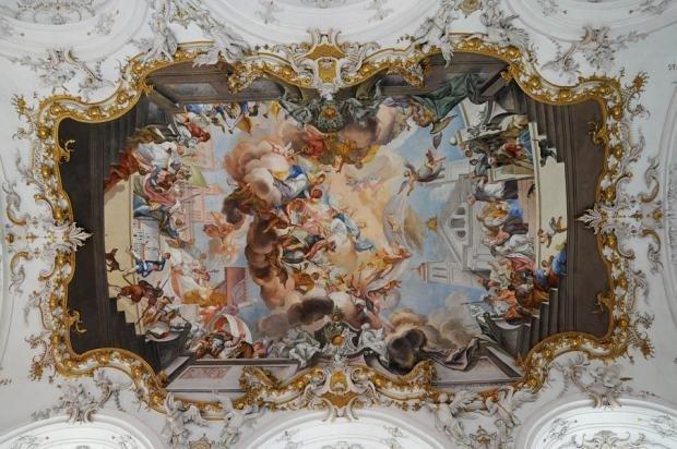 Художественные картины в интерьере в стиле ампир