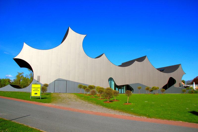Выставочный зал «Cumulus» в Дании