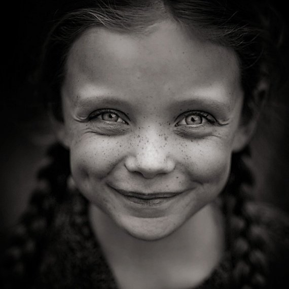 Шедевры портретной фотографии: Детская улыбка