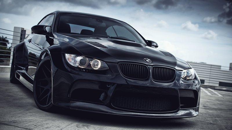 Тюнингованный BMW M3